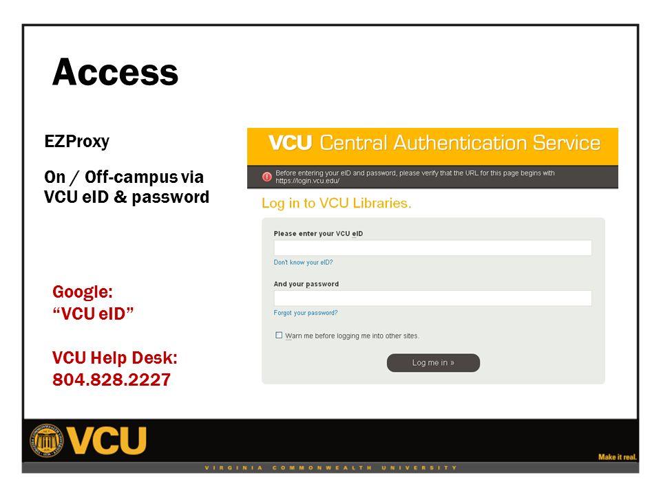 4 Access ...