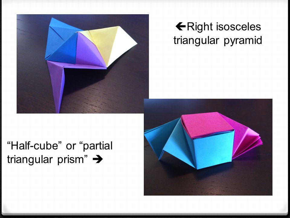 3 Right Isosceles Triangular Pyramid