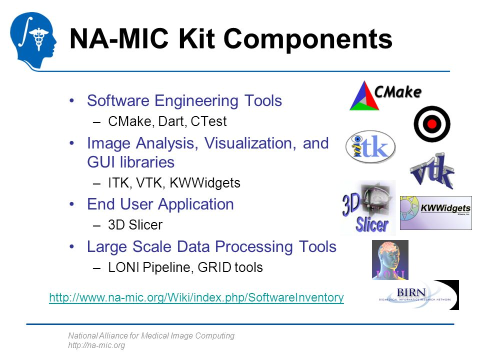 NA-MIC National Alliance for Medical Image Computing The NA
