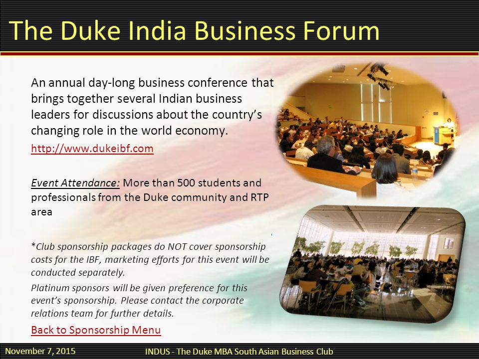 South asian business club