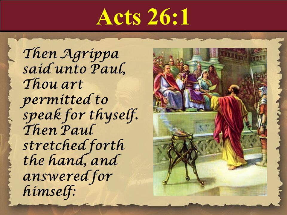 Paul In Acts 26 - centralsky