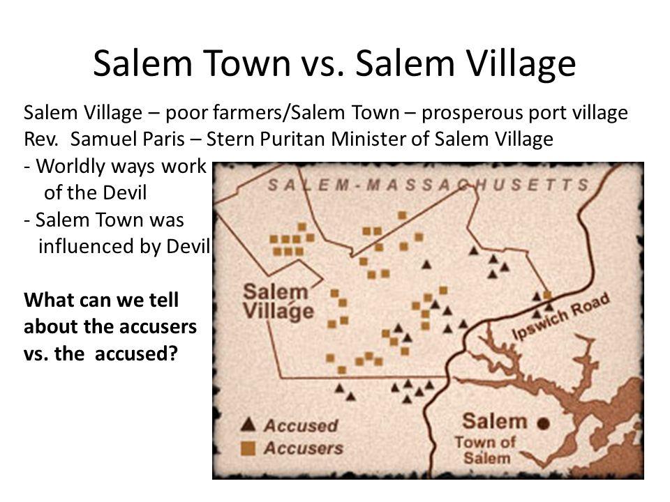 salem town vs salem village