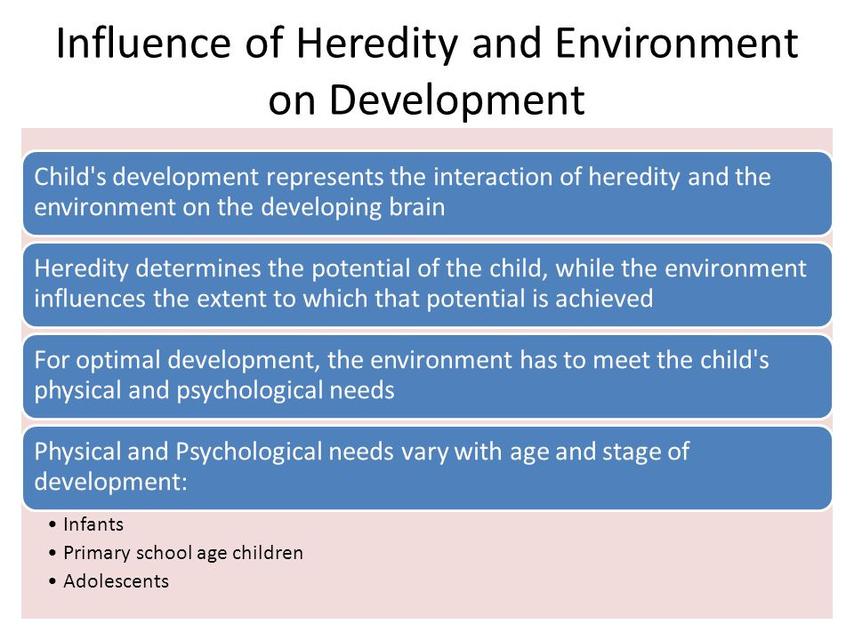 impact environment childhood development Children's cognitive development during early childhood is most sensitive to the experience of low family income literature on the effects of economic instability on child development is limited, though.