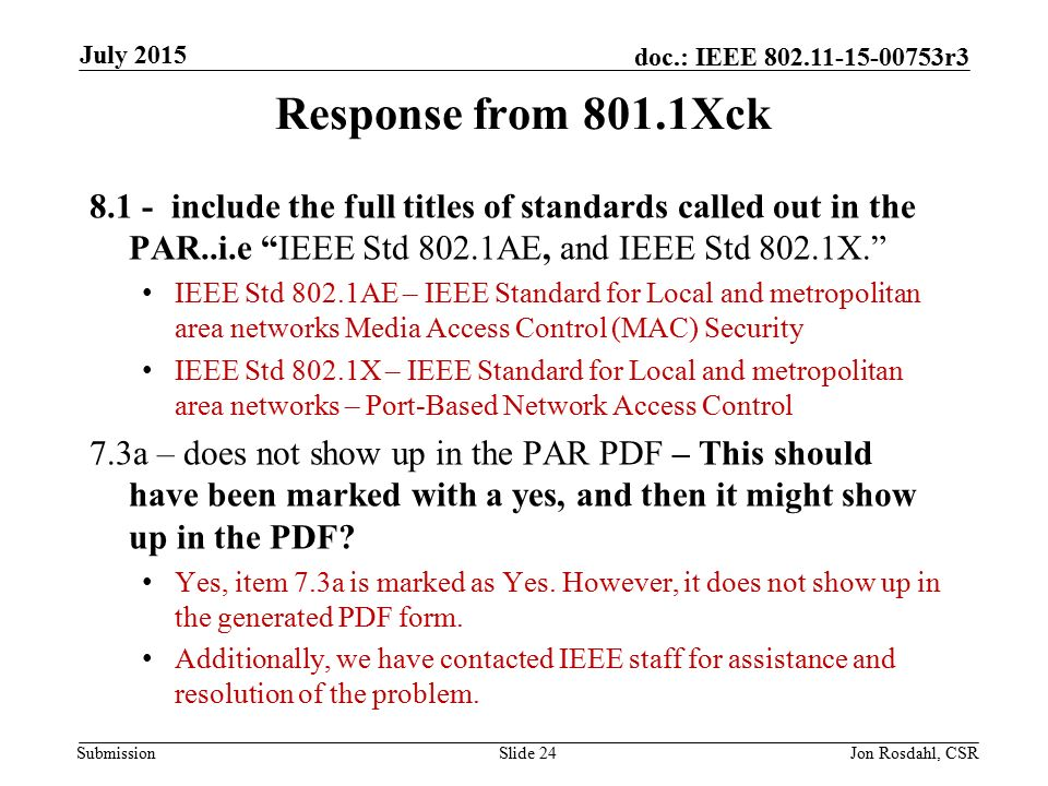 Submission Doc Ieee R Par Review July 2015 Date July 2015 Jon