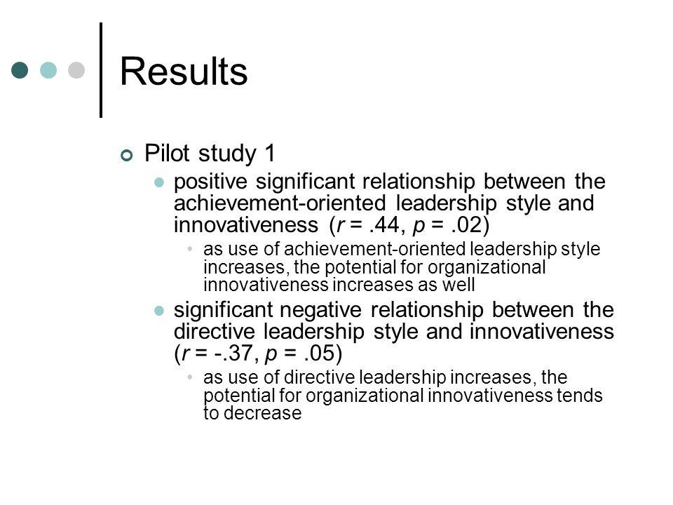 achievement oriented leadership style