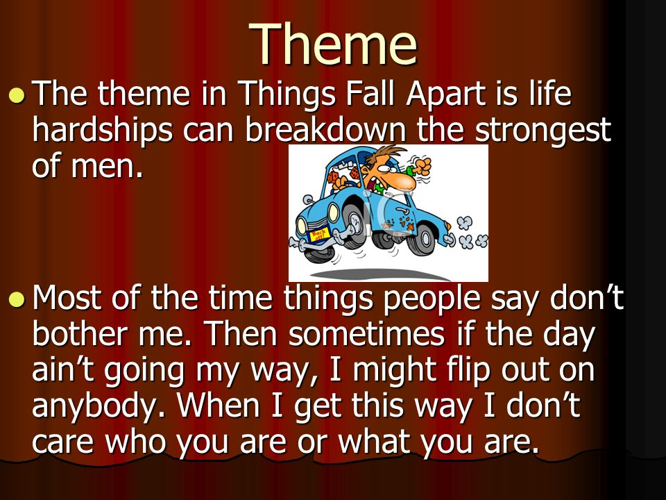 what is the theme of things fall apart