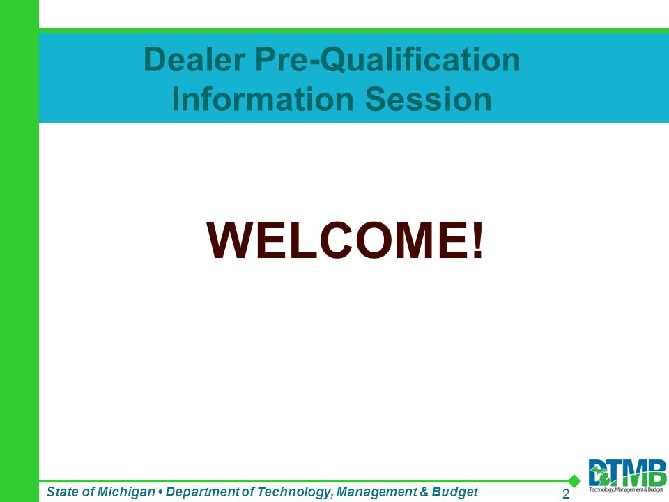 Click To Add Text Dealer Pre Qualification Information Session State