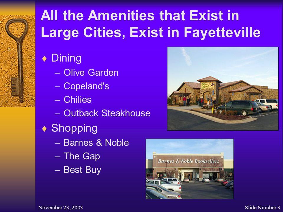 University Of Arkansas And Fayetteville Arkansas A Community To