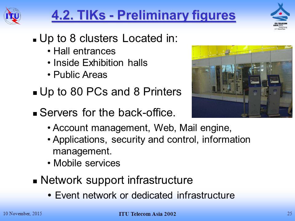 10 November Itu Telecom Asia 2002 Provision Of Telecommunications