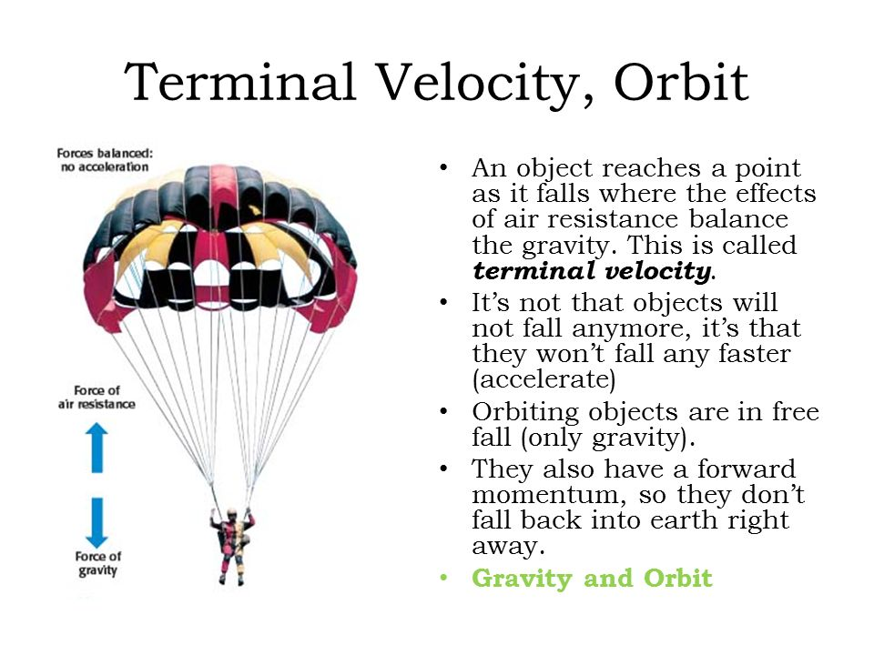 investigating terminal velocity Answer to in this lab, you will be investigating the terminal velocity of a system an object's terminal velocity is a result o.