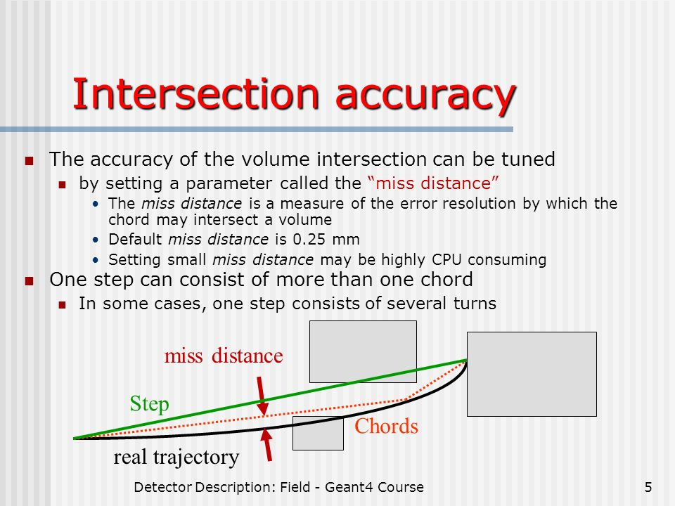 Detector Description: Sensitive Detector & Field - ppt download
