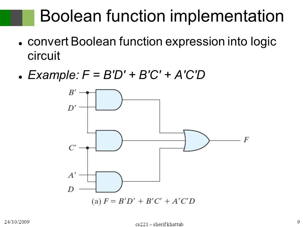 Logic Design Cs221 1 St Term Circuit Implementation Cairo Diagram Word 2010 9