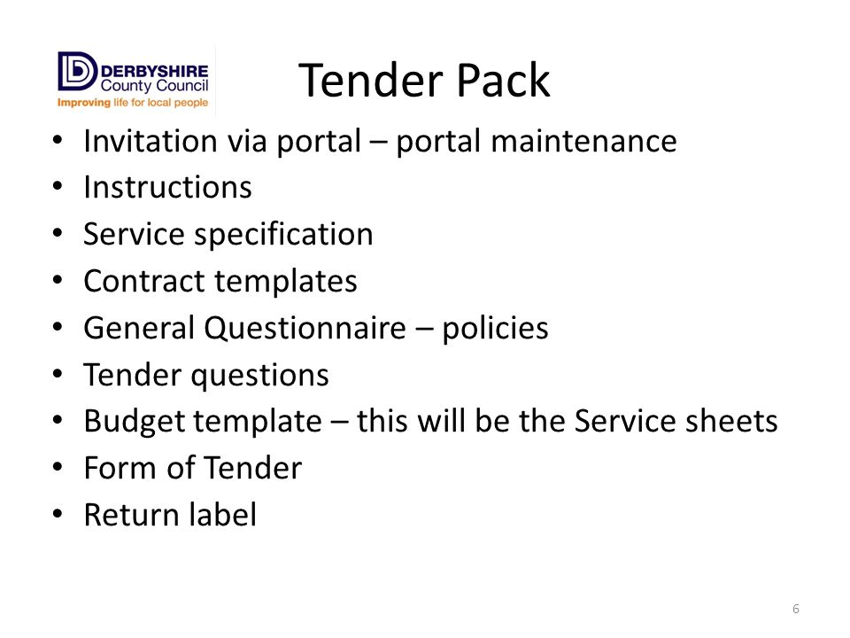 Tendering Basics Introductions Housekeeping Scope ppt download