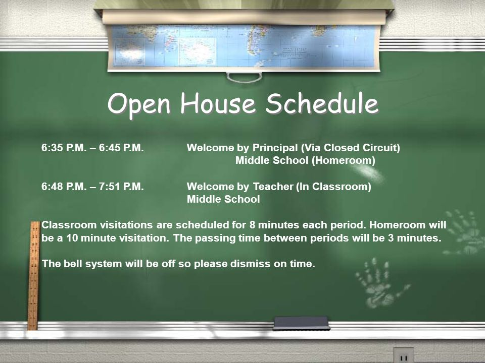 Open House Welcome Homeroom Sixth Grade Parents PLEASE SIGN