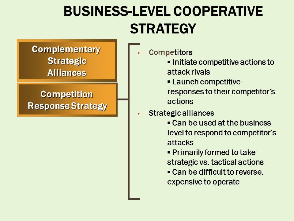 diversifying strategic alliance example