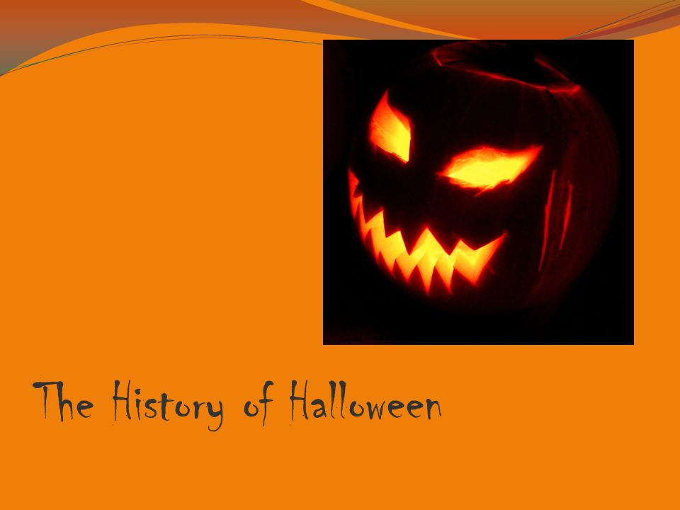 1 the history of halloween