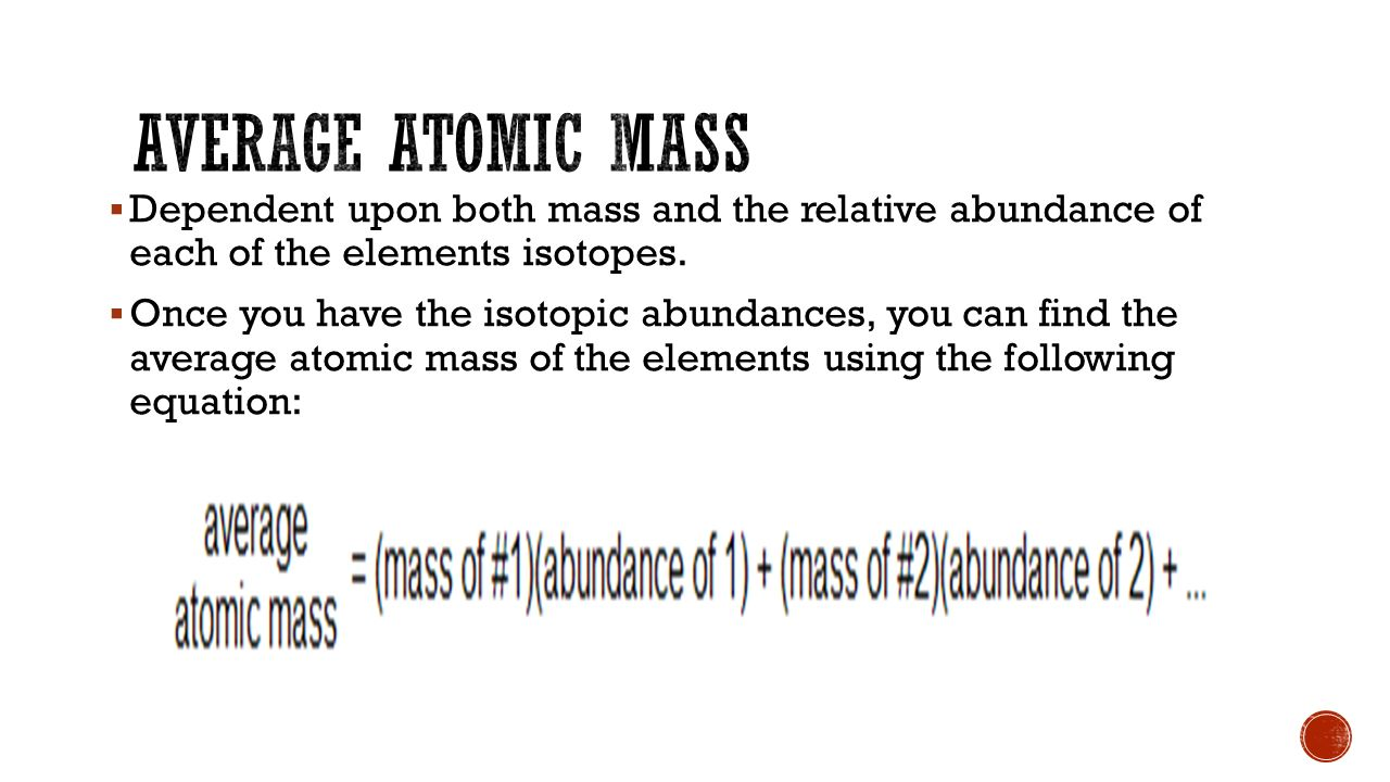  If all isotopes have an atomic mass that's a whole number, why are all the atomic masses on the periodic table decimals.