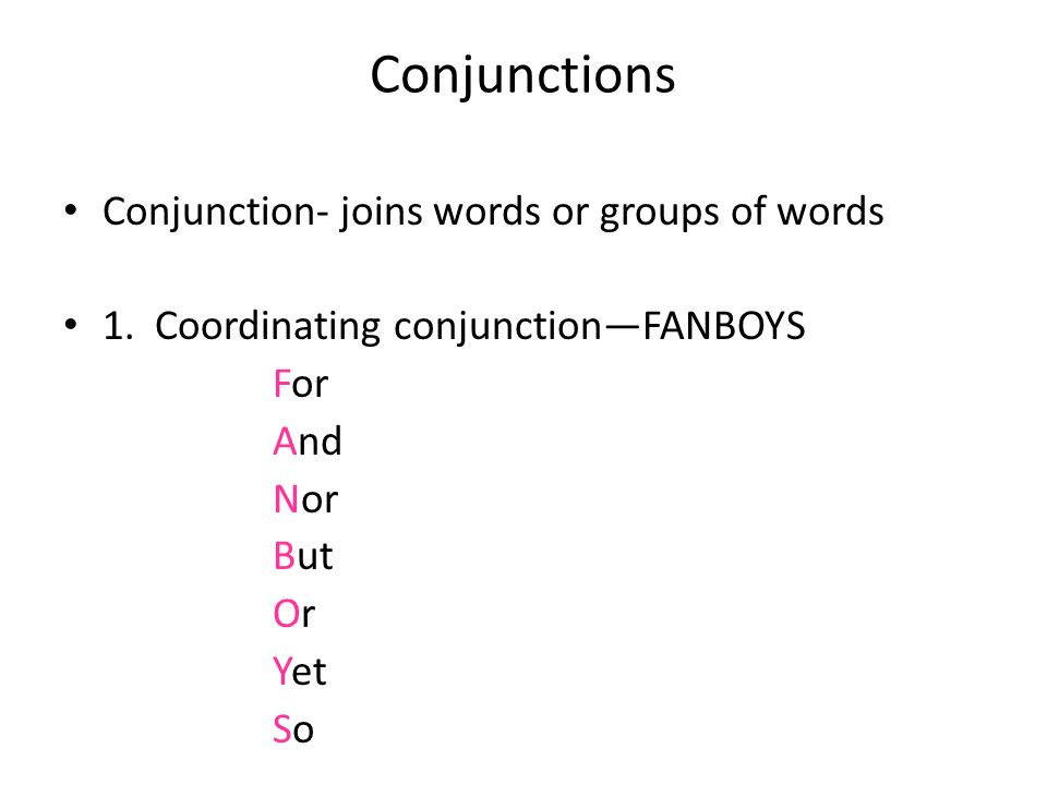 Parts of Speech Cont'd Verbs, Adverbs, Prepositions, Conjunctions ...