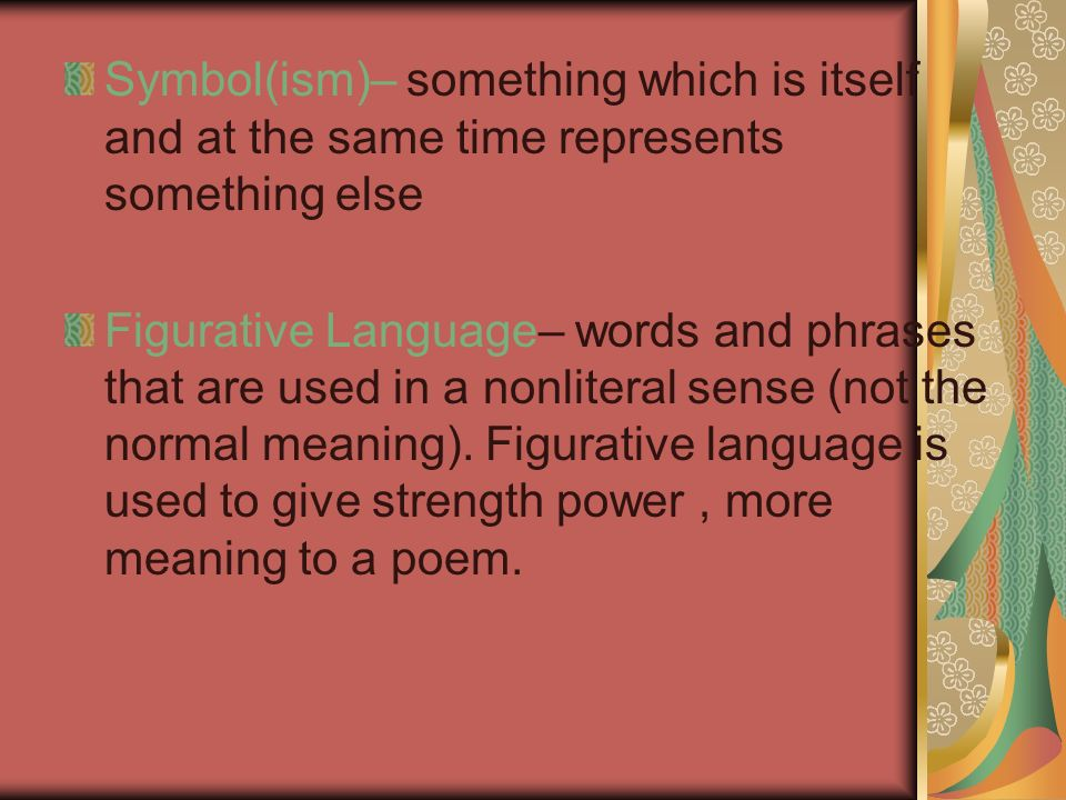Reading And Understanding Poetry Definition A Poem Is Made Up Of