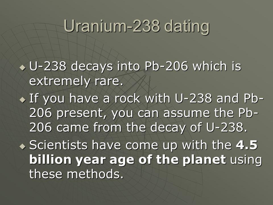 U 238 dating