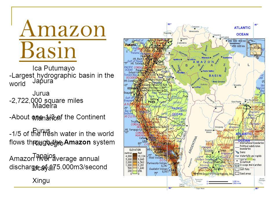 South America - Amazon Basin Leonardo A. Ramirez November ... on amazon forest colombia, amazon forest ecuador map, amazon forest peru, amazon forest brazil map, amazon forest in south america, amazon forest on map, amazon forest world map,