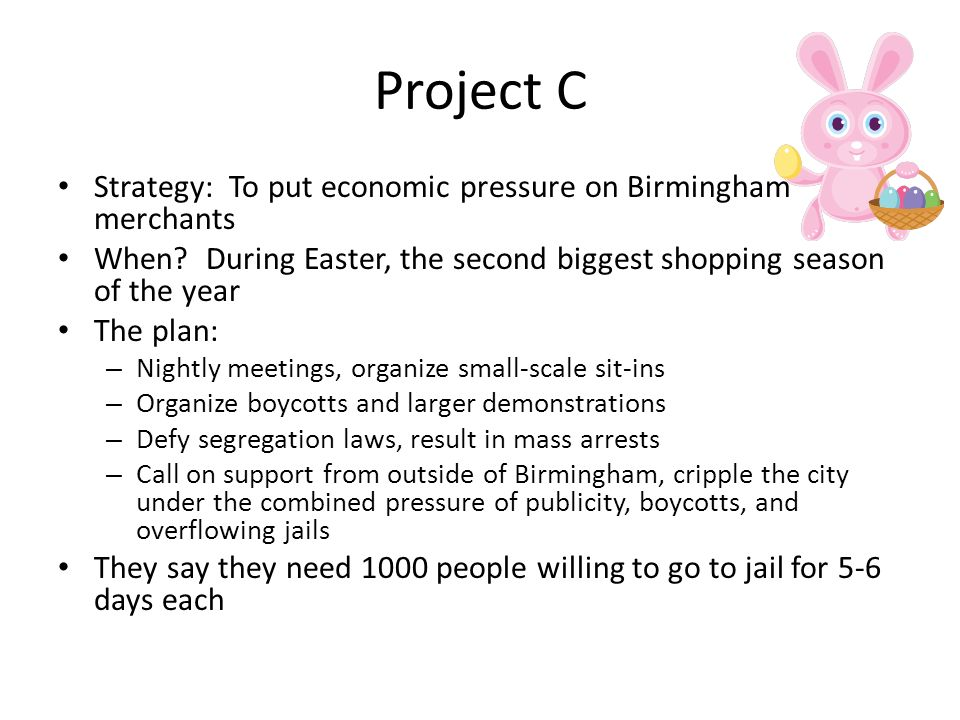 what is the main idea of letter from birmingham jail