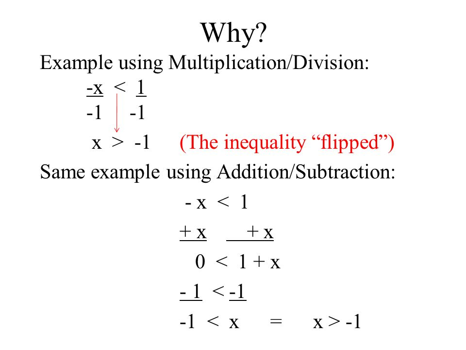 Learn to solve and graph inequalities by using multiplication or.