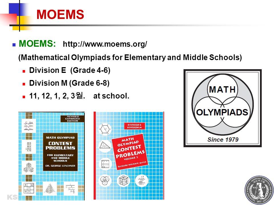KSEA-NE 1 Math Competitions in US 도 삼주 Principal Speech Scientist