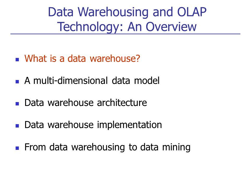 Olap architecture ppt