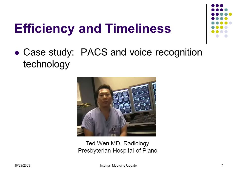 Patient Safety & Clinical Quality: Information Technology at