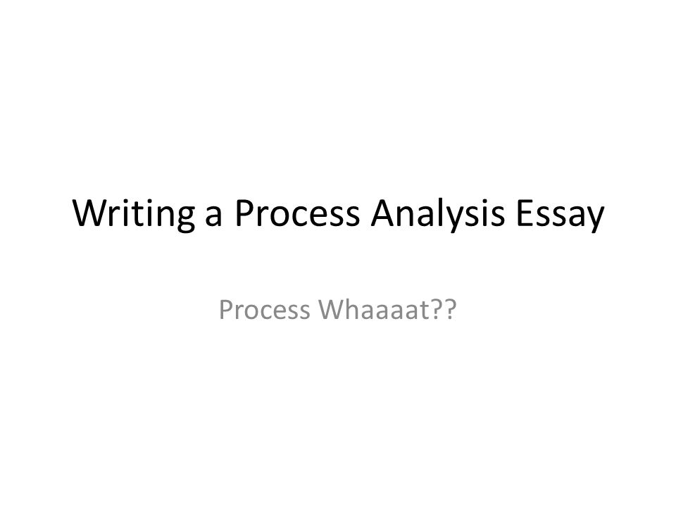 Modern Science Essay  Writing A Process Analysis Essay  Business Studies Essays also What Is Thesis In Essay Writing A Process Analysis Essay Process Whaaaat  Ppt Download How To Start A Synthesis Essay