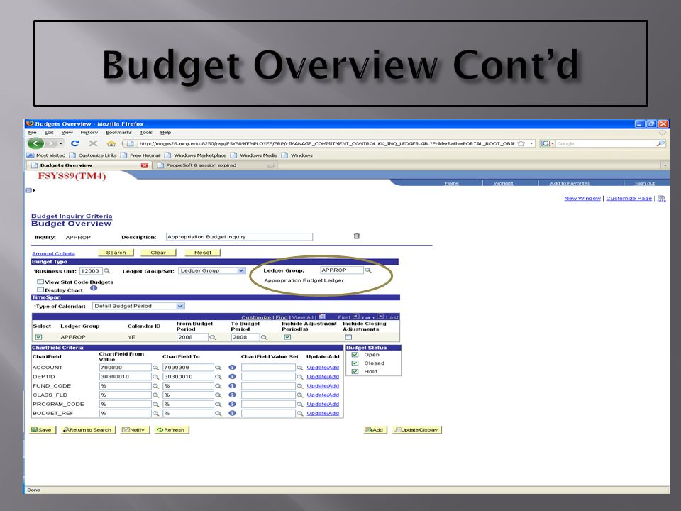 types of budgets advantages of psoft 8 9 budget overview