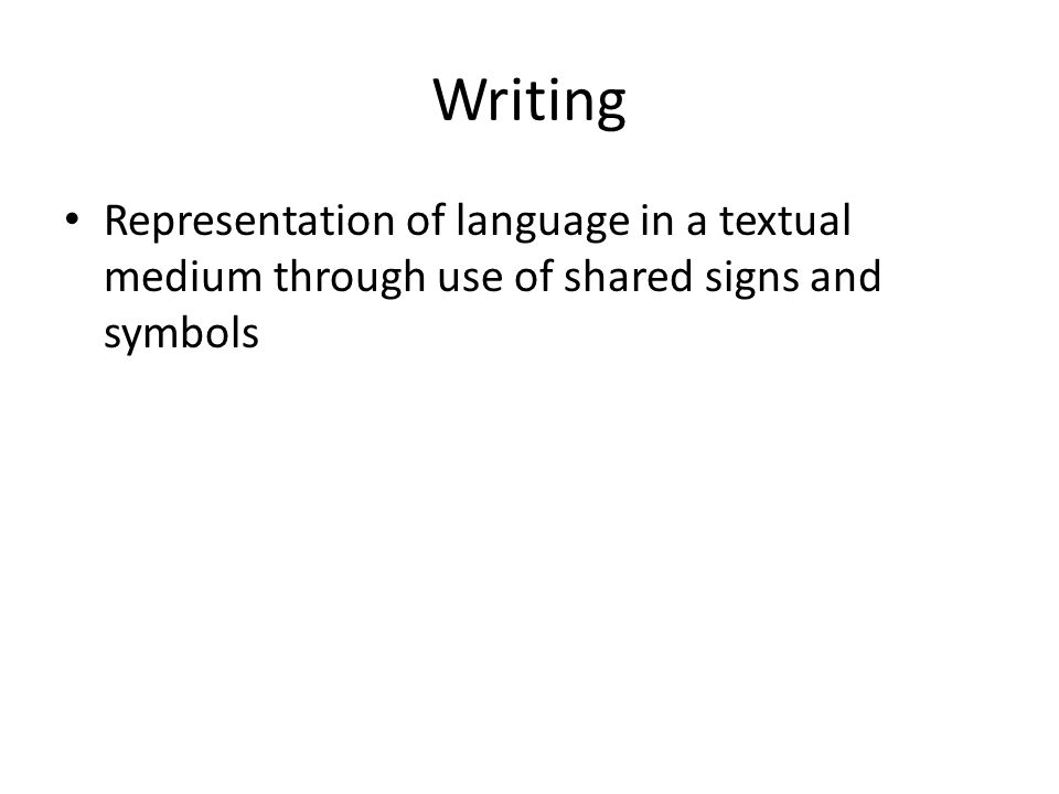 The Origins Of Writing Introduction We Have Studied The Emergence