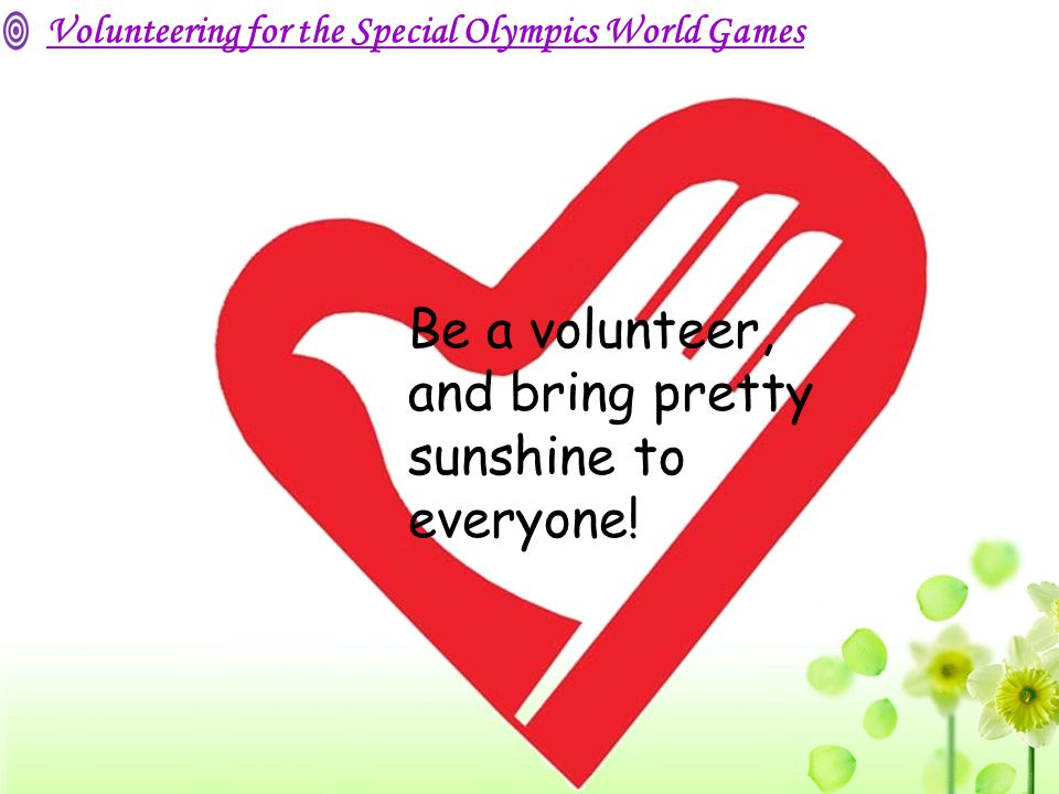By Li Yunzhi. IQ ﹤ 70 The Special Olympics World Games ● purpose of the Games ● events of the Games ● volunteers' work Tell me about the Games! - ppt download - 웹