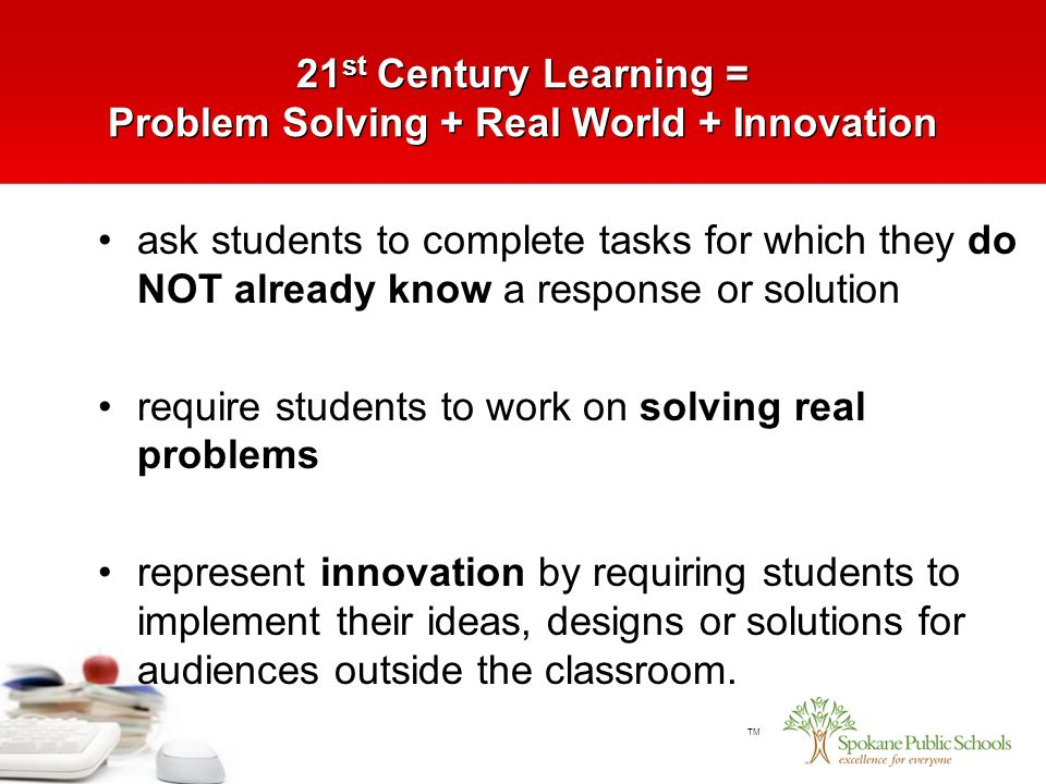 The Real 21st Century Problem In Public >> Tm 21 St Century Learning Problem Solving Real World