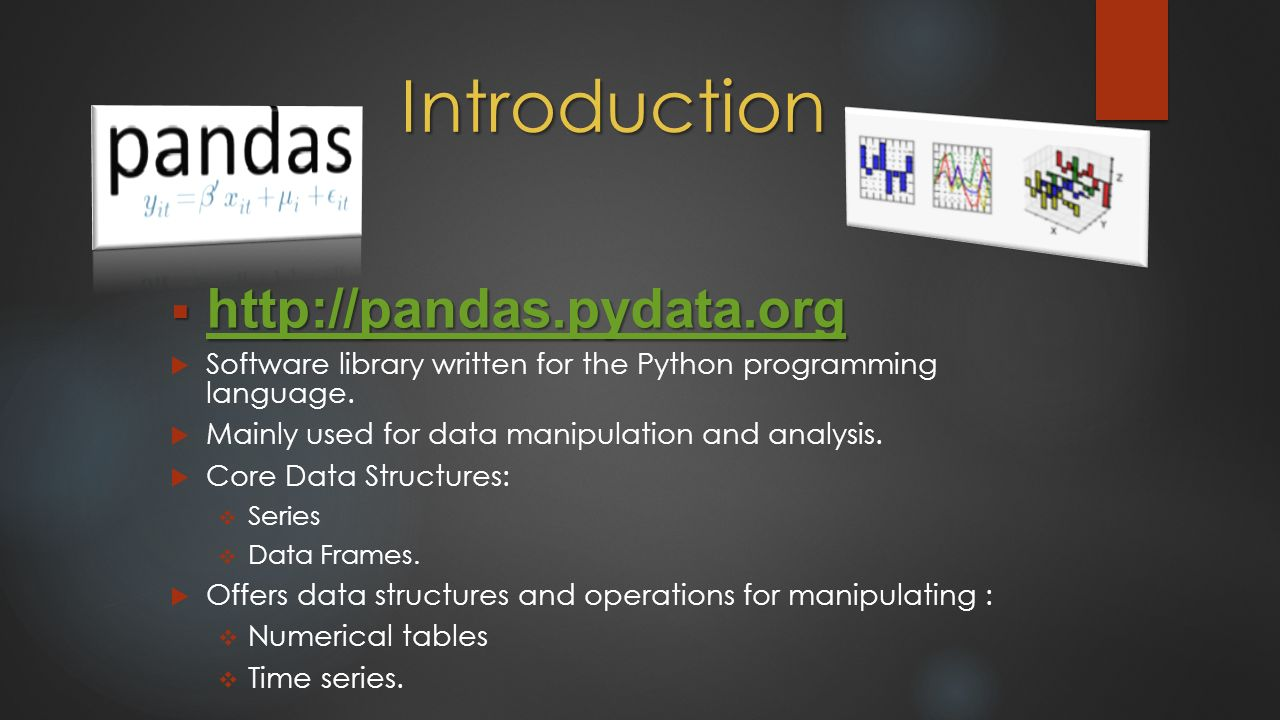 A Powerful Python Library for Data Analysis BY BADRI PRUDHVI
