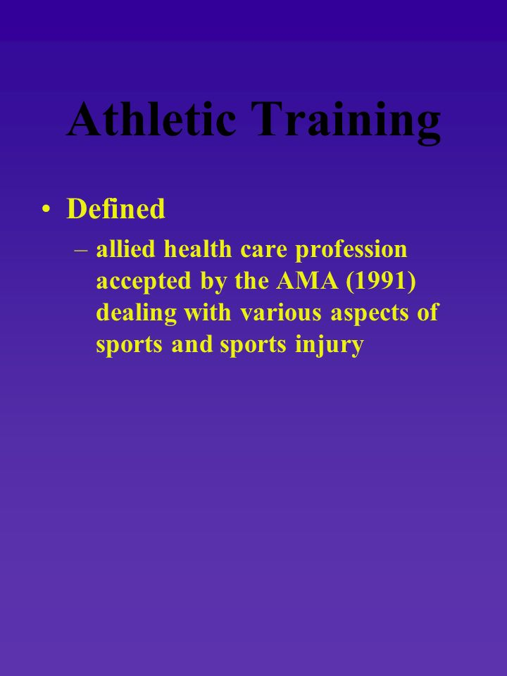 Sports Medicine umbrella term –concerned with sport ______ and sport ______.