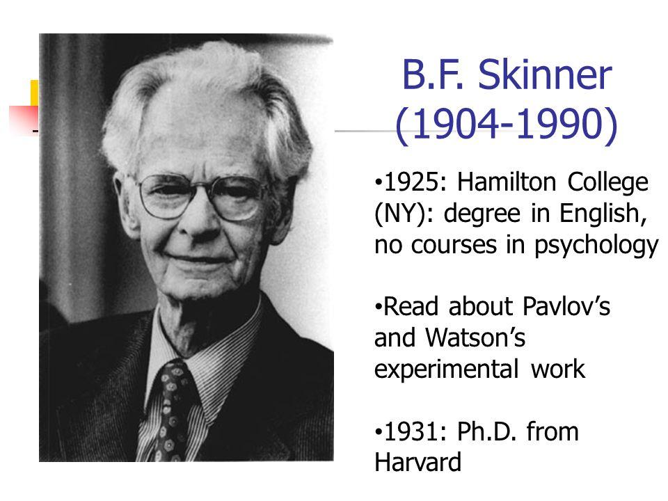 b f skinner versus sigmund freud views on behavior Skinnerandfreud - looking for skinner and finding  in his writings on human behavior, skinner cited freud more than any other  b f skinner, sigmund freud,.