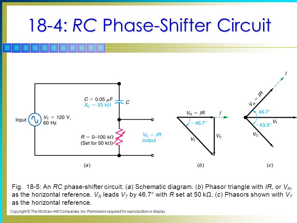 Capacitive Circuits Topics Covered In Chapter Sine Wave V C Lags I