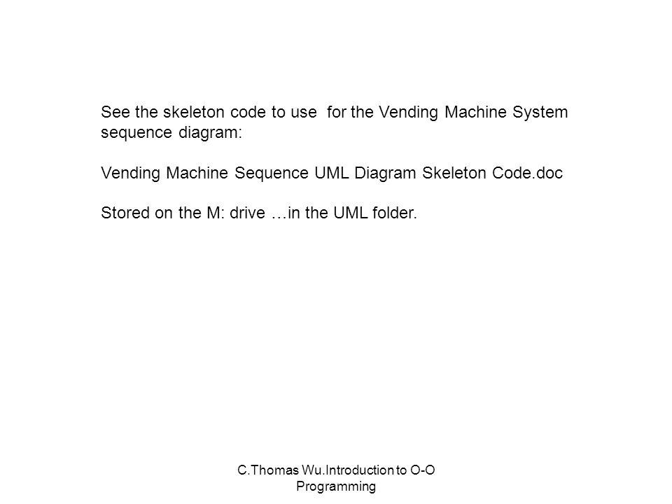 Comas wuroduction to o o programming uml diagrams unified vending machine system sequence diagram customer 29 comas ccuart Gallery