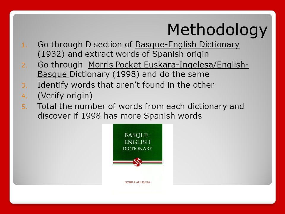 english basque dictionary