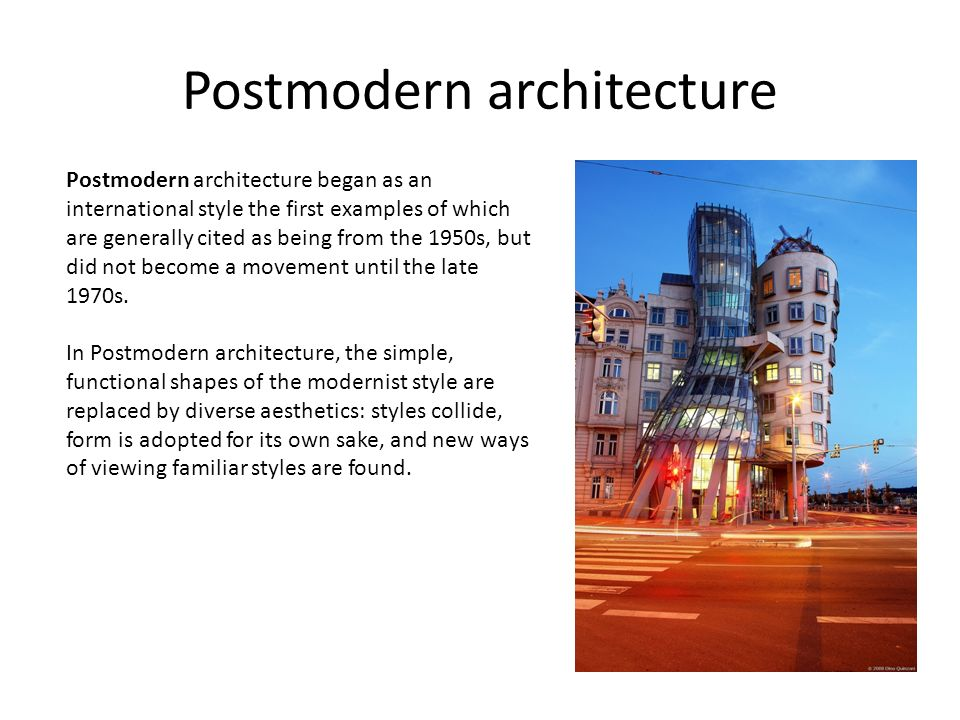 Modern Architecture What Is Architecture Architecture Is The Art