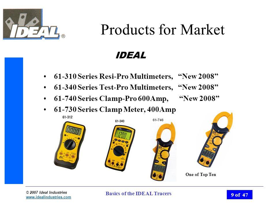 Ideal 61-340 Test-Pro Multimeter Tm