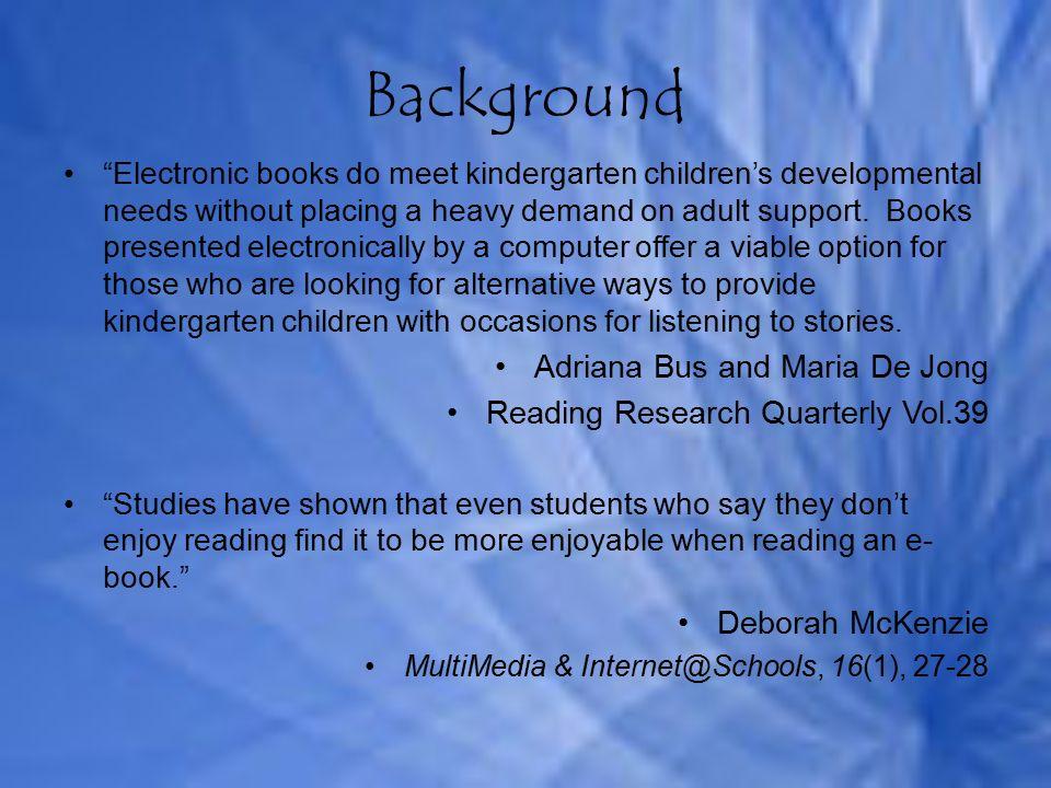 Improving Reading Abilities Are interactive/e-books