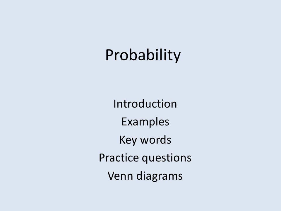 Venn Diagram Probability Examples Students Schematic Diagrams