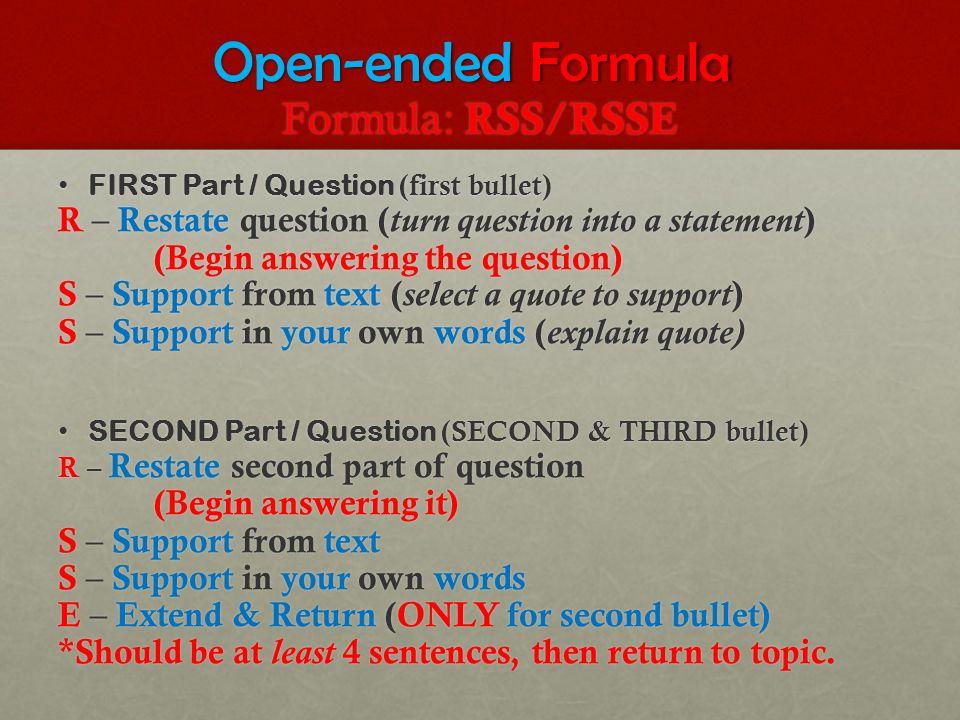 rss rsse essay