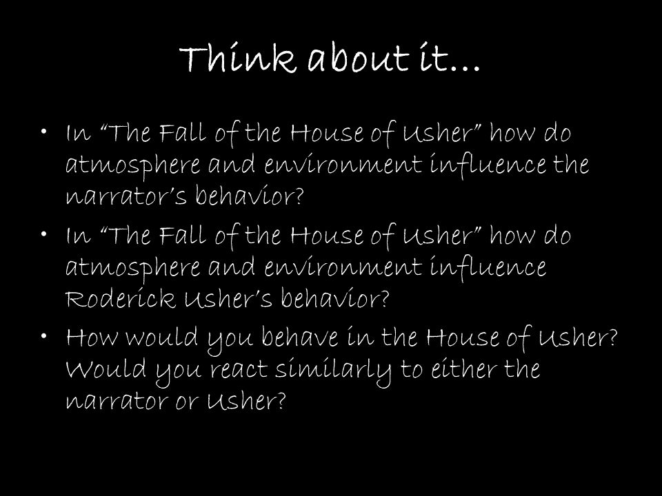 describe the house of usher