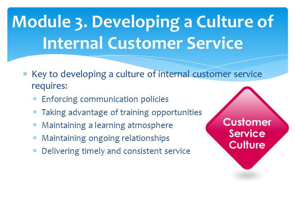 Internal Customer Service Basics A guide to effective