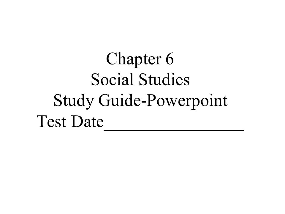 social studies chapter 12 study guide The following links can be used by students to enroll in one of my vocabularycom social studies  ga milestones study/resource guide for  12, and will be.