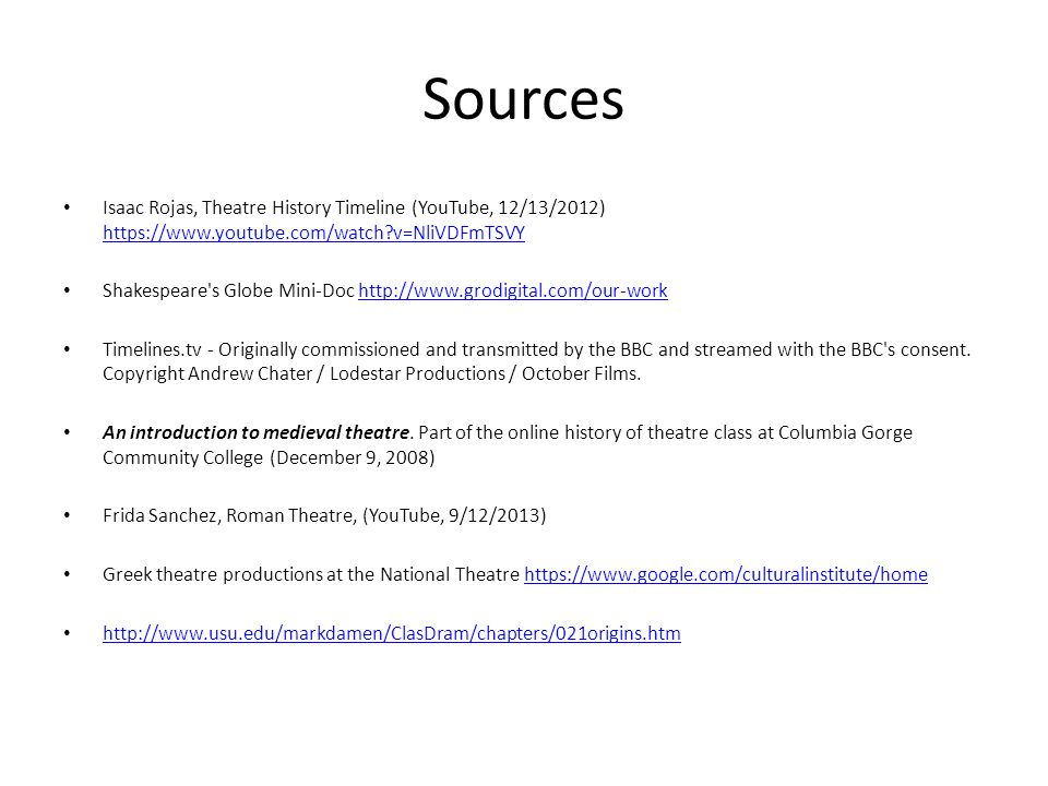 HISTORY OF WESTERN THEATRE Theatre Appreciation Fall ppt download